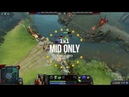 DOTA2 MID ONLY Night Stalker vs Rubick