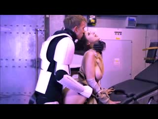 Stella Cox fuck a Huge Cock in Star Wars The Force Awakens HD