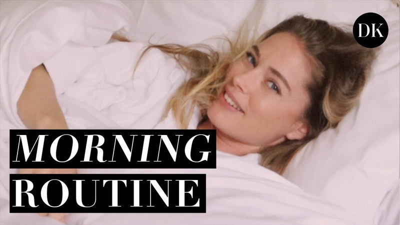 MY SHORT MORNING WORK-OUT WHAT I EAT FOR BREAKFAST • DOUTZEN DIARIES