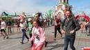 Общий старт участников на 5,10 и 21,1 км на XXXVII Йошкар-Олинском полумарафоне в День города 2019