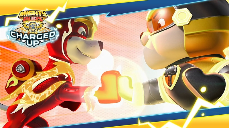 Mighty Pups Charged Up Pups vs a Copycat Marshall PAW Patrol Official Friends