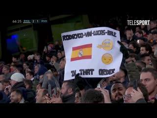 Реал Мадрид  Реал Сосьедад. Трибуны освистали Гарета Бэйла