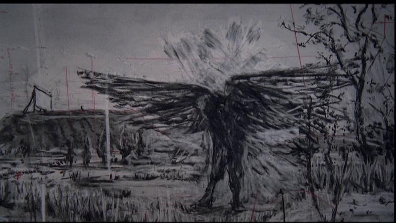 Schubert Winterreise Die Krähe Matthias Goerne Visualized by William Kentridge