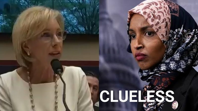 Watch Smart Woman literally Turn The Tables On Ilhan Omar For Asking Dumb Questions