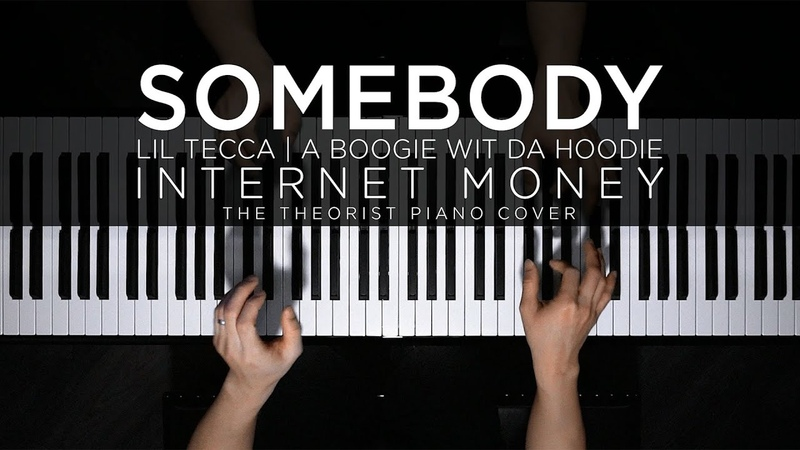 Internet Money ft Lil Tecca A Boogie Wit Da Hoodie Somebody The Theorist Piano Cover