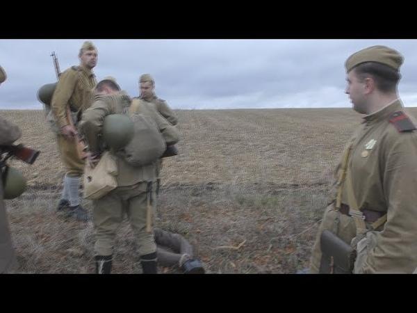 Стрелковое отделение КА Форсирование Днепра октябрь 1943 Red Army machinegun sqouad Oktober 1943 Рассказ о вооружение солдат