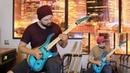Marty Friedman Thunder March guitar cover Студент Артем Хомич