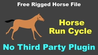 How to Animate Horse run cycle using After Effects Part-1( After Effects Tutorial without plugin)