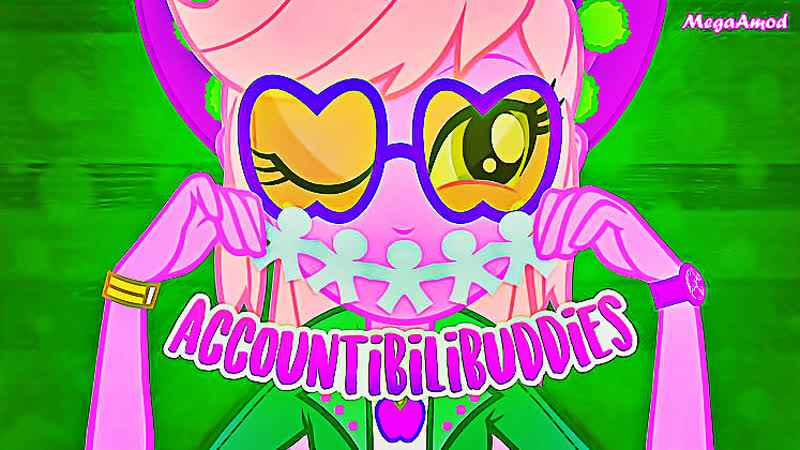 MLP Equestria Girls 'Accountabilibuddies' Nyash XXL New Series