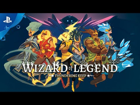 Humble Bundle Presents: Wizard of Legend - Thundering Keep Update Trailer | PS4 2020