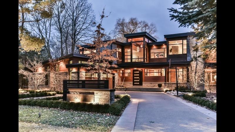 Unique Contemporary Custom Build House Oakville | Virtual Tour