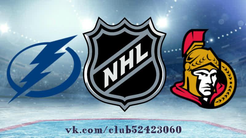 Tampa Bay Lightning vs Ottawa Senators | 12.10.2019 | NHL Regular Season 2019-2020