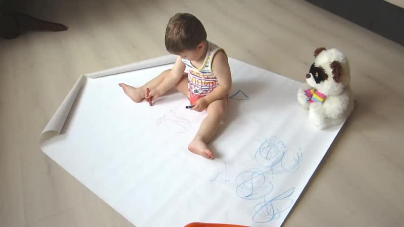 Развивающие игры для ребенка 1,5 - 2 года. Чем занять ребенка дома (720p).mp4