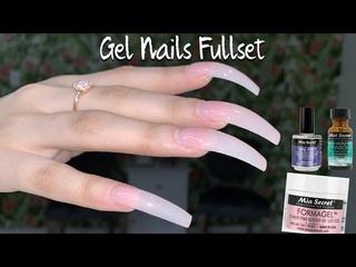 Gel Nails Tutorial Step by Step | Mia Secret Formagel | Long Gel Nails