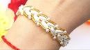 BRACELET/Beaded bracelet/Pearl BRACELET/Diy Bracelet/Tutorial/Браслет из бусин/Браслет КОЛОСОК