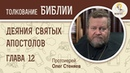 Деяния святых апостолов. Глава 12. Протоиерей Олег Стеняев. Библия