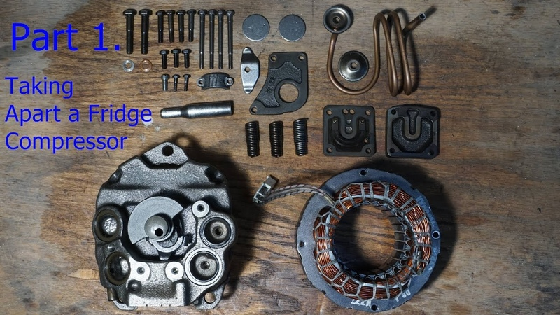 Part 1. DIY Internal Combustion Engine Made from Old Compressor - Taking it Apart and Tools