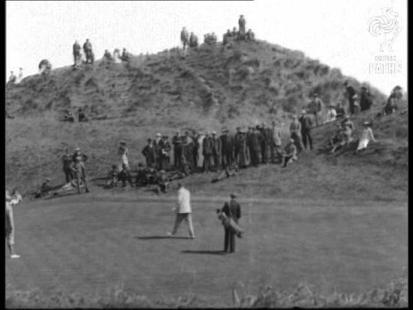 Mr Carr Beats Palmer At Golf (1910-1919)