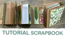 Tutorial Scrapbook für eine Freundin Scrapbooking Sizzix 662816 Stanze Stampin up Mini Album
