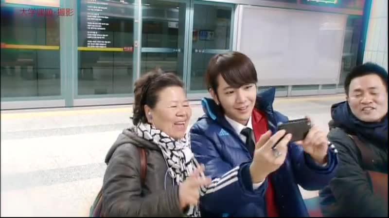 2011.12.08. JKS на съёмках ролика «Do you still envy such life» для SFF ASIA.