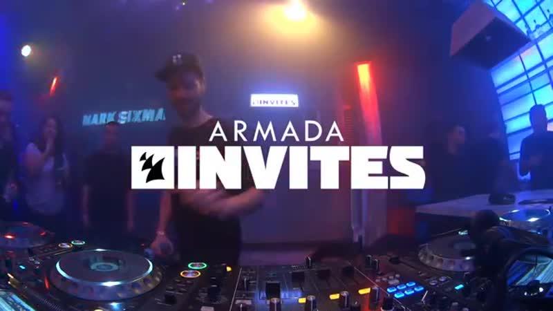 Armada Invites Mark Sixma