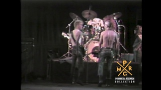 EXPLOITED SOUNDCHECK JUNE 1 1984 OLYMPIC AUDITORIUM