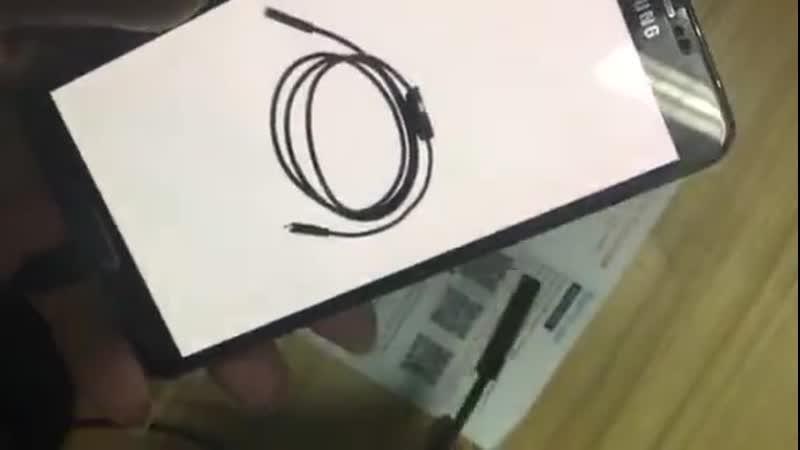 Эндоскопическая гибкая камера для телефона