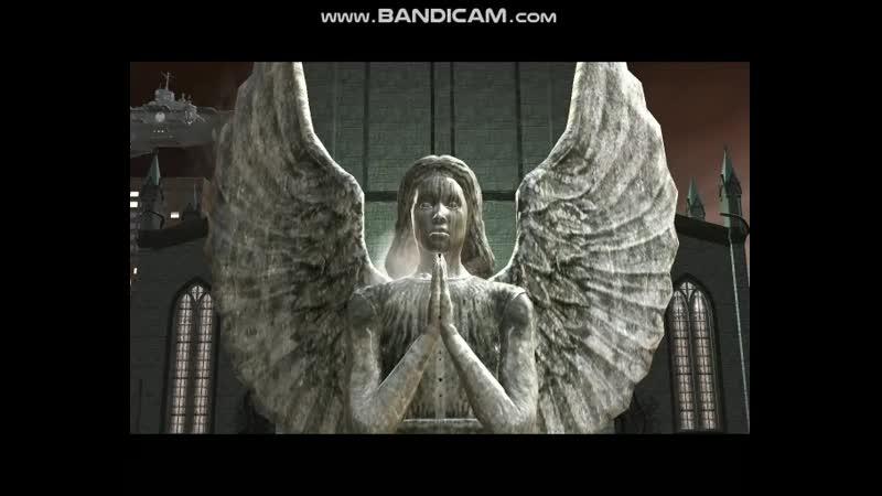 Логан под симбиотом с расстояния 6 метров не касаясь статуи ангела смог её порезать рассекая воздух.