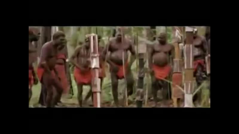 Папуасы танцуют под татарские плясовые