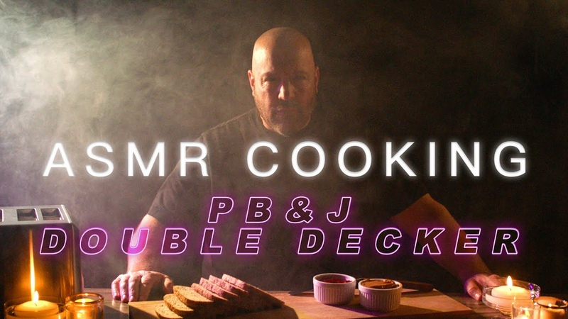 ASMR Cooking PB J Double Decker Kevin James