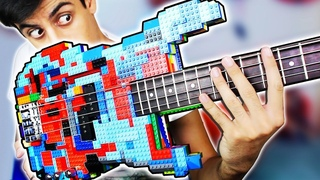 I Built a Bass Guitar Out of LEGO