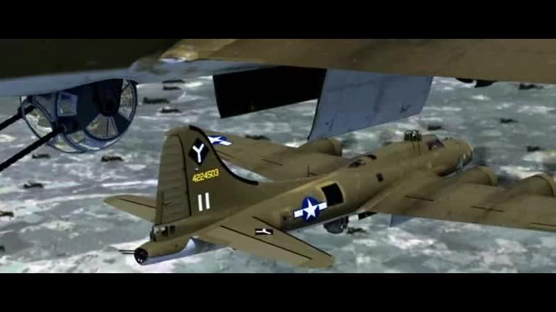 Налёт B-17 (Летающая крепость (2010)-001
