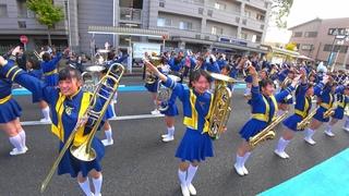 長岡京ガラシャ祭パレード2016<FULL> 京都橘高校吹奏楽部 Kyoto Tachibana SHS Band(Nov 13,  2016)
