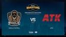 Swole Patrol vs ATK DH Masters Malmö 2019 NA Quals map2 de mirage Gromjkee SSW