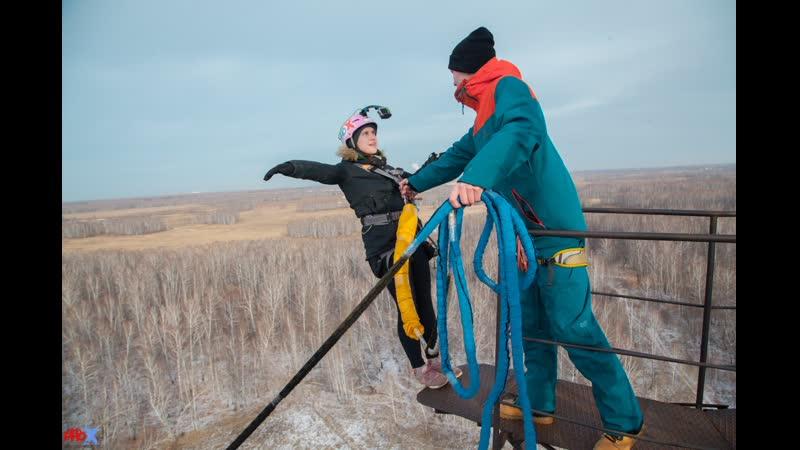 Anna G. прыжок FreeFallProX команда ProX74 объект AT53 Chelyabinsk 2019 1 jump RopeJumping