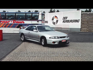 Nissan — nürburgring meister: hiroyoshi kato.
