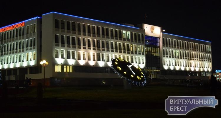 Открытие новогодней елки Московского района состоялось в Бресте вечером 20 декабря