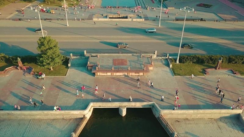 Екатеринбург Плотинка Квадрокоптер Лето 2019