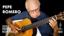 Sneak peek: new 2020 Pepe Romero Dome guitar played by Pepe Romero Sr. before arrival to GSI