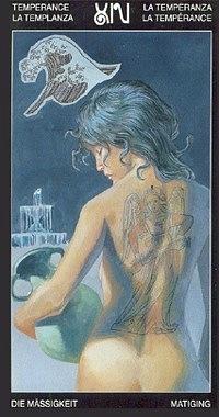 Таро Таттуаж (Tattooed Tarot)  X_38b77837