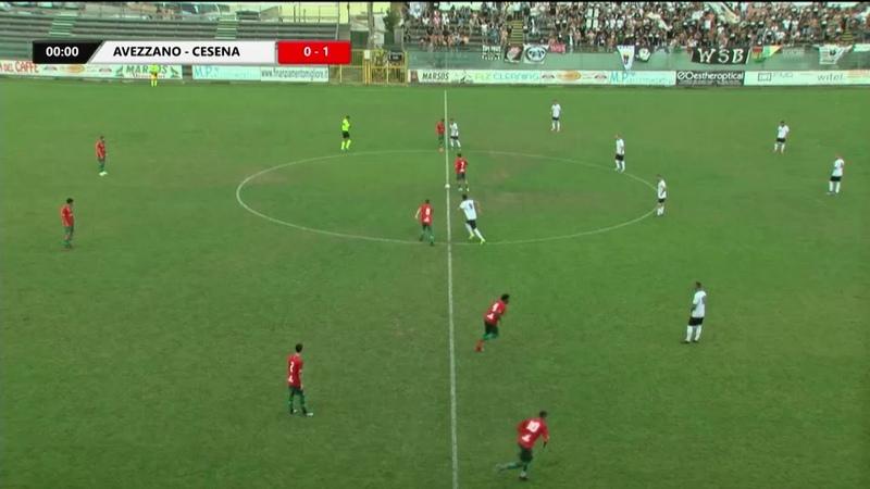 Avezzano 1-2 Cesena