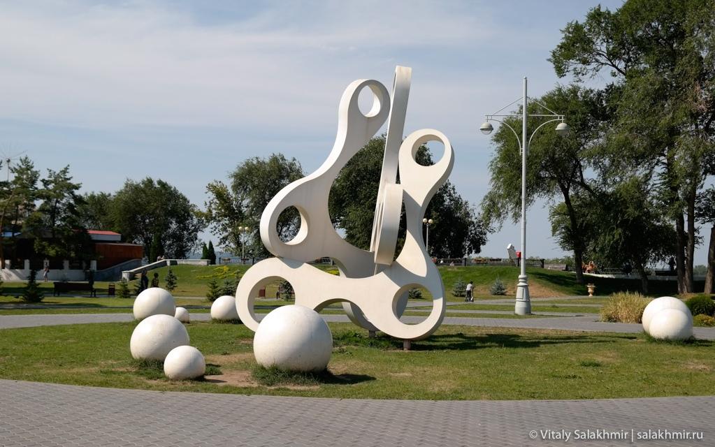 Инсталляции в Покровском парке, Энгельс 2020