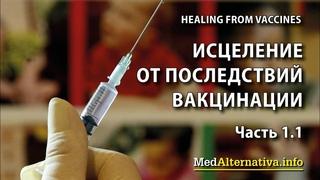 Исцеление от последствий вакцинации. Часть 1.1