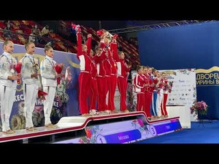 Церемония награждения командного многоборья Чемпионата России  в индивидуальной программе 2021