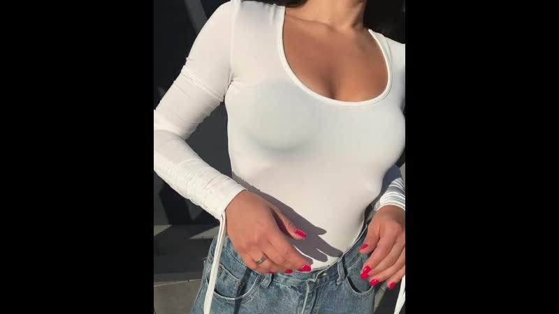 Боди со сборками 💵 одежжа69 Чёрный Белый Беж One size 1600 боди69 казаньбоди
