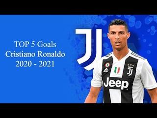 TOP 5 GOALS CRISTIANO RONALDO 2020   2021 JUVENTUS