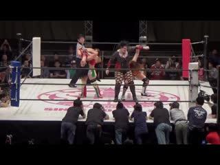Tessa Blanchard  Jessicka Havok vs. Hiroyo Matsumoto  Jungle Kyona