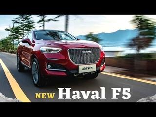Новый Haval F5 за 937 тыс.руб. Конкурент Geely Coolray? Обзор на лучший китайский автомобиль к 2021.