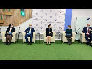 Открытие «Точки кипения» в Ханты-Мансийске. Пленарная сессия