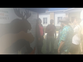 Поход на Байдарках по Керженцу, лето 2018